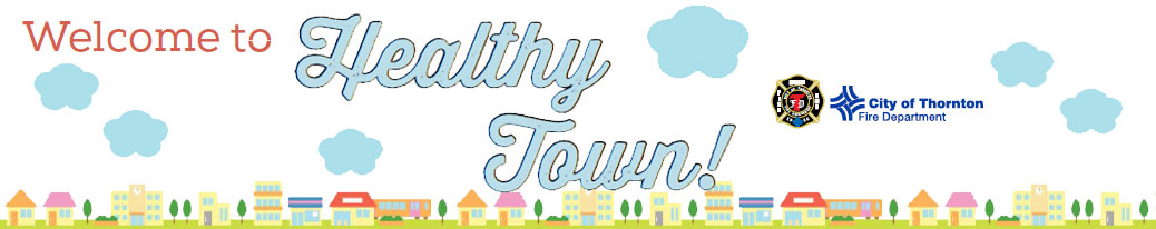 Healthy Town Graphic
